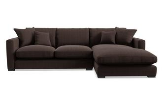 Dillon Left Hand Facing Small Chaise End Sofa Dillon