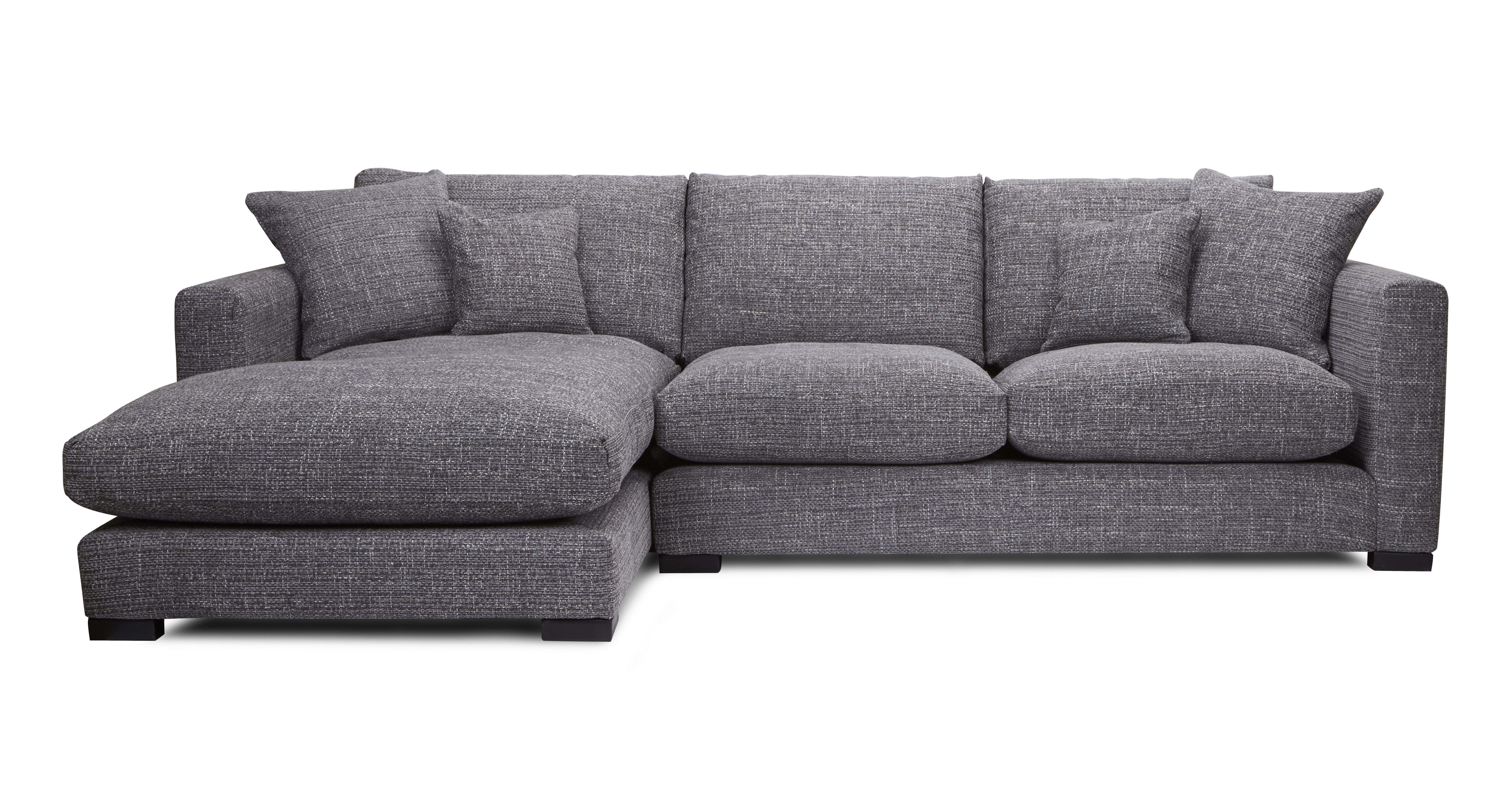 Dillon linkszijdige chaise kleine hoekbank dfs banken - Sofa kleine ruimte ...
