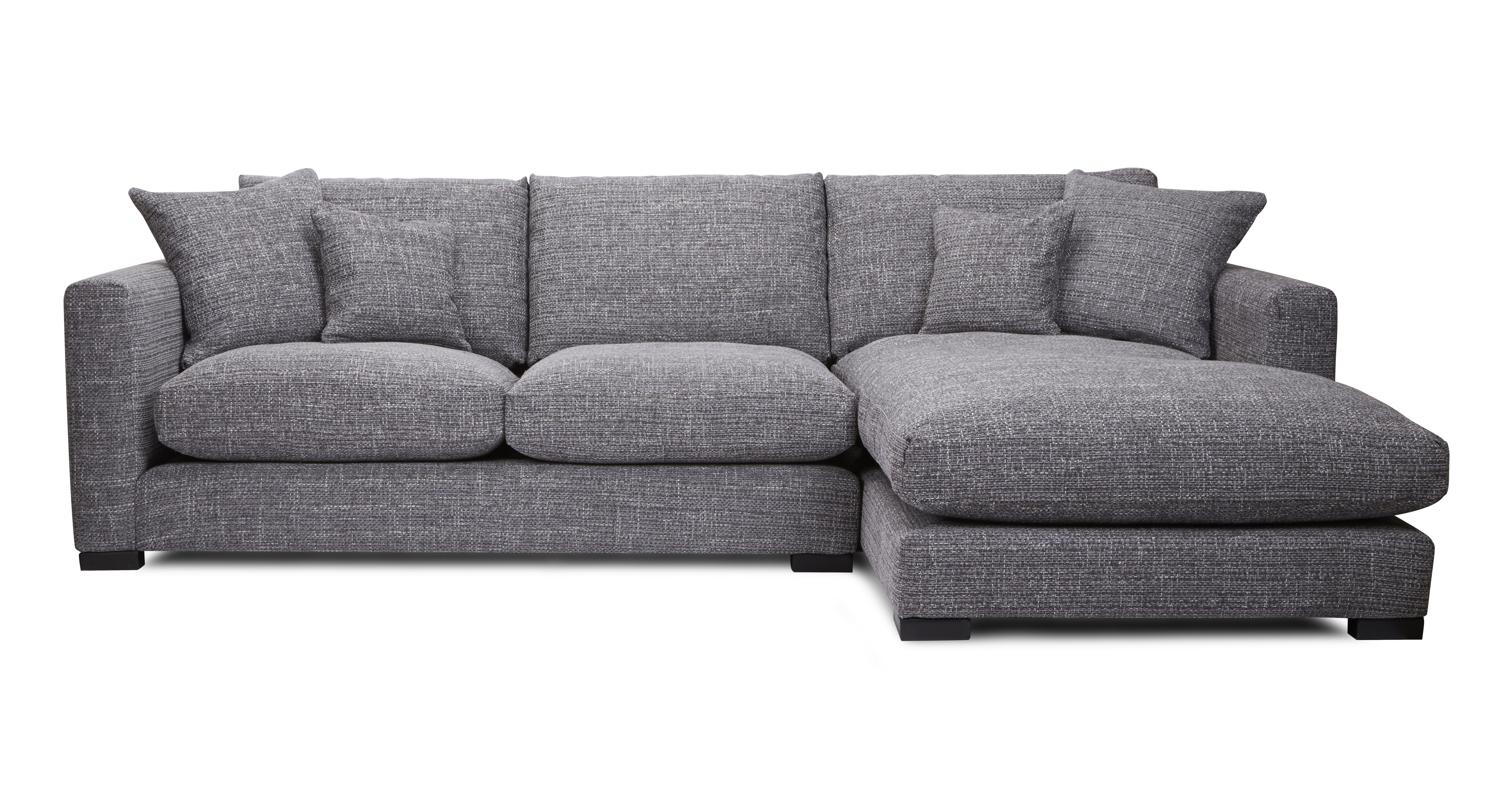 Dillon right hand facing small chaise end sofa dfs for Barcelona chaise corner sofa