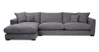 Dillon Left Hand Facing Large Chaise End Sofa