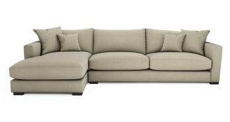 Dillon Smart Weave Left Hand Facing Large Chaise End Sofa