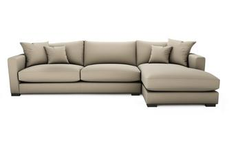 Dillon Soft Plain Right Hand Facing Large Chaise End Sofa Dillon Soft Plain