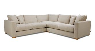 Dillon Smart Weave Small Corner Sofa