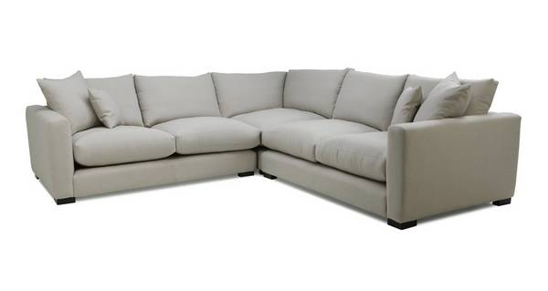Dillon Soft Plain Small Corner Sofa