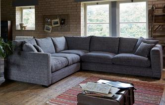 Corner Sofas In Both Leather Amp Fabric Dfs