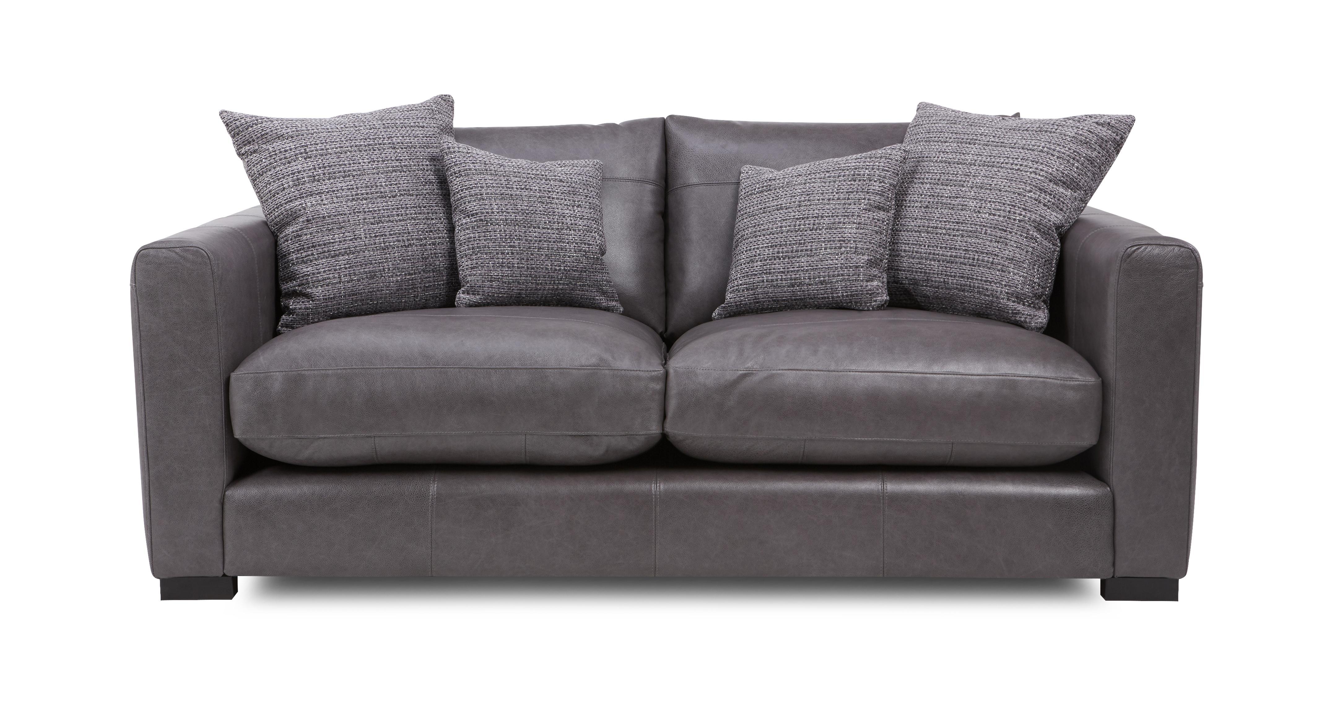 Dillon Leather Small Sofa Dfs Ireland