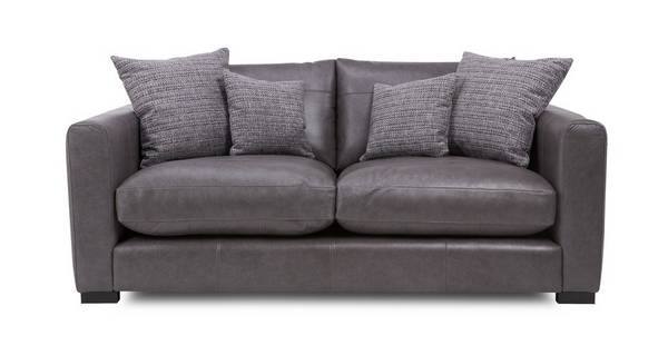 Dillon Leather Small Sofa