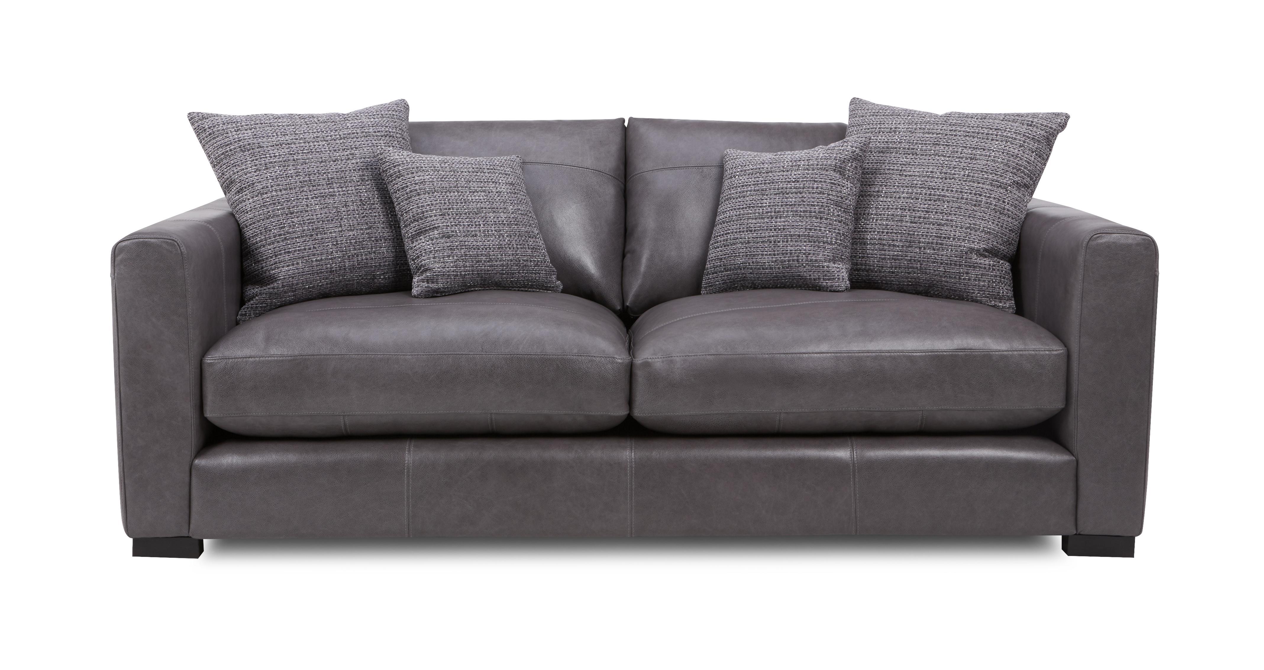 Dillon Leather Medium Sofa Dfs Ireland