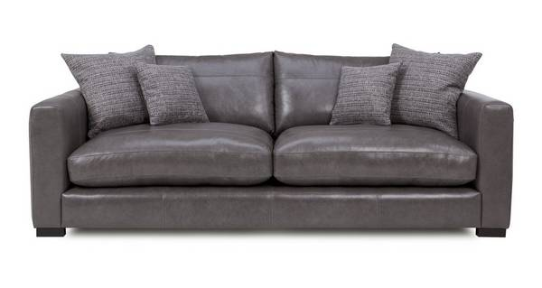 Dillon Leather Large Sofa