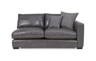 Right Hand Facing Small Sofa Unit Dillon Leather