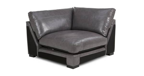 Dillon Leather Corner Unit