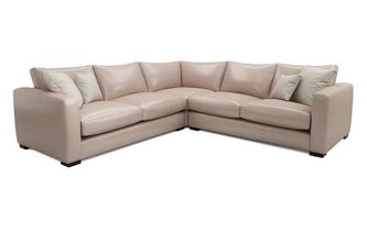 Leather Corner Sofas In A Range Of Great Styles Creams And Beiges