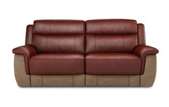 Dinsdale 3 Seater Power Recliner Bacio Vellutato