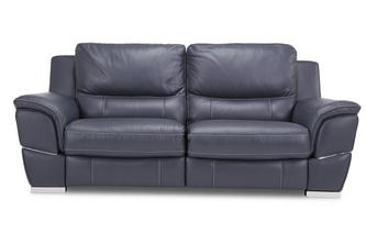 3-zitter handbediende recliner New Club Contrast