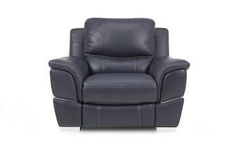 Handbediende recliner stoel New Club Contrast