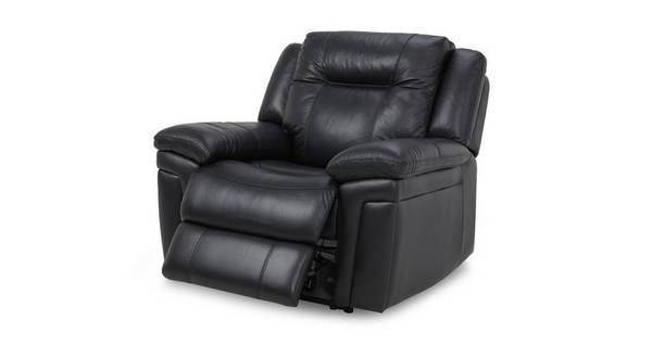 Diversity Leather and Leather Look Manual Recliner Chair