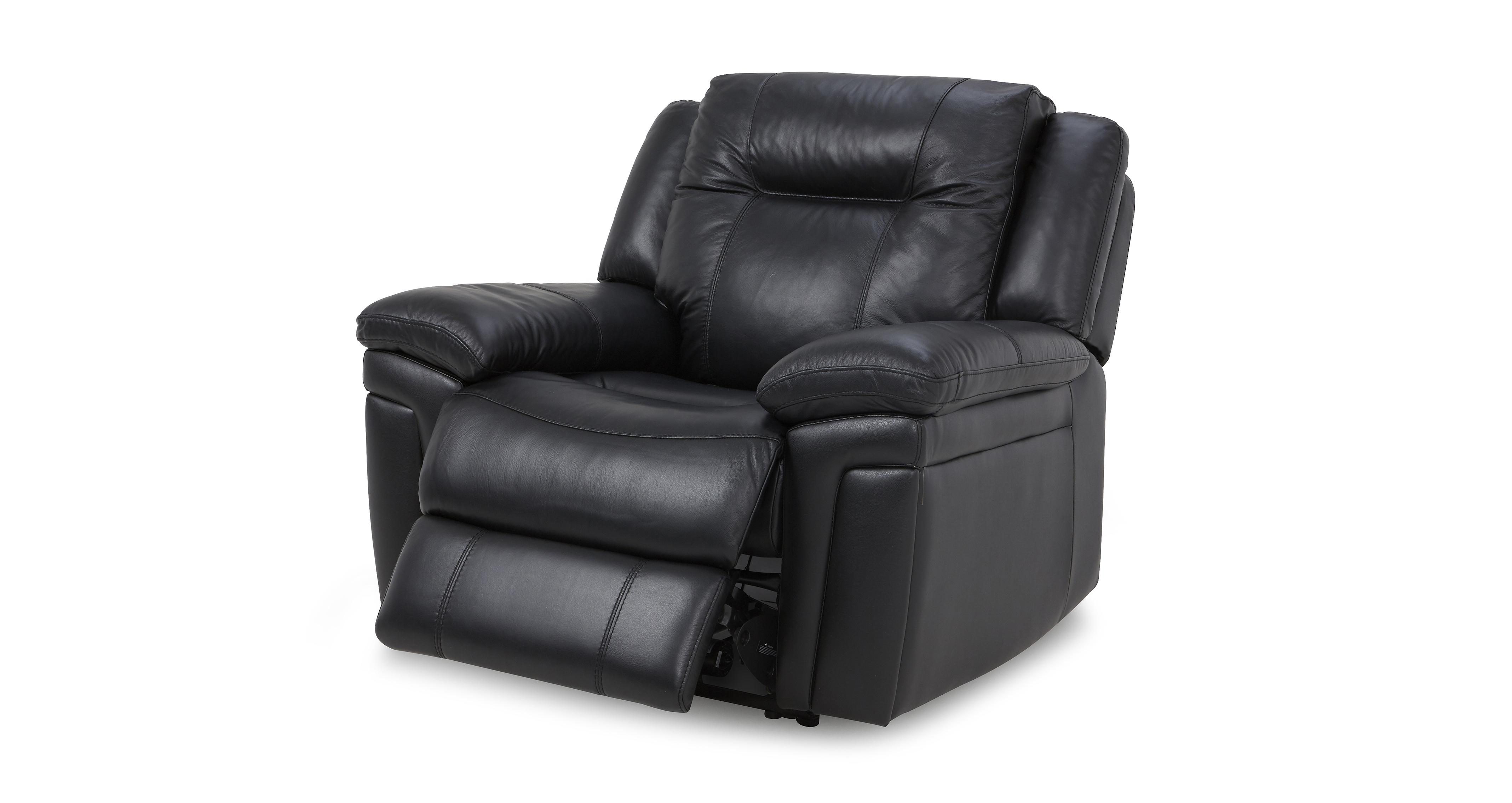 Diversity Leather And Leather Look Electric Recliner Chair Premium DFS