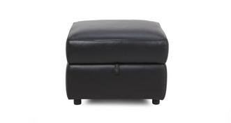 Diversity Leather and Leather Look Storage Footstool