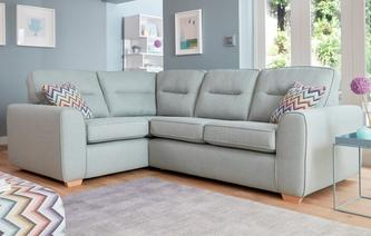 Dixy Right Hand Facing 2 Seater Corner Sofa Revive