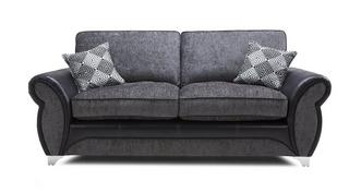 Dolcetto 3 Seater Formal Back Sofa