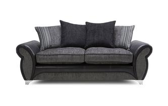 3 Seater Pillow Back Sofa Dolcetto