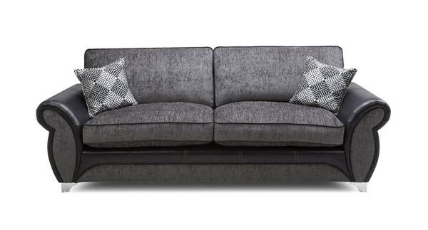 Dolcetto 4 Seater Formal Back Sofa