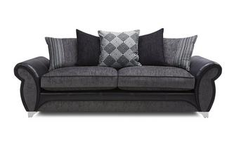 4 Seater Pillow Back Sofa Dolcetto