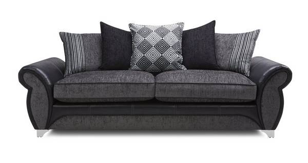 Dolcetto 4 Seater Pillow Back Sofa