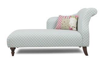 Linkszijdige Chaise Longue Doll Pattern