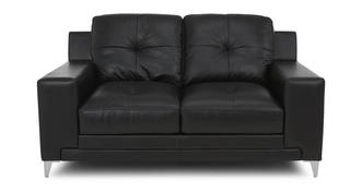 Domain Leather and Leather Look 2 Seater Sofa