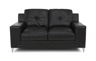 Leather and Leather Look 2 Seater Sofa Le Mans