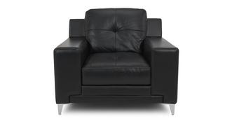 Domain Leather and Leather Look Armchair