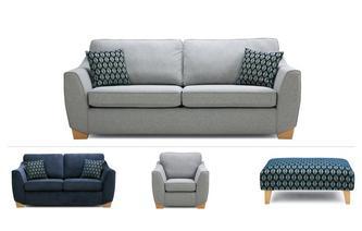 4 & 2 Seater Sofa, Chair & Stool