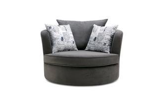 Large Swivel Chair Plaza