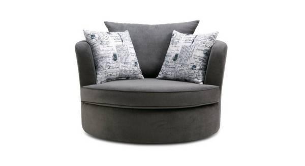 Dora Large Swivel Chair