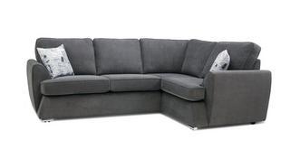 Dora Left Hand Facing 2 Seater Corner Sofa