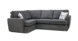 Dora Right Hand Facing 2 Seater Corner Sofa