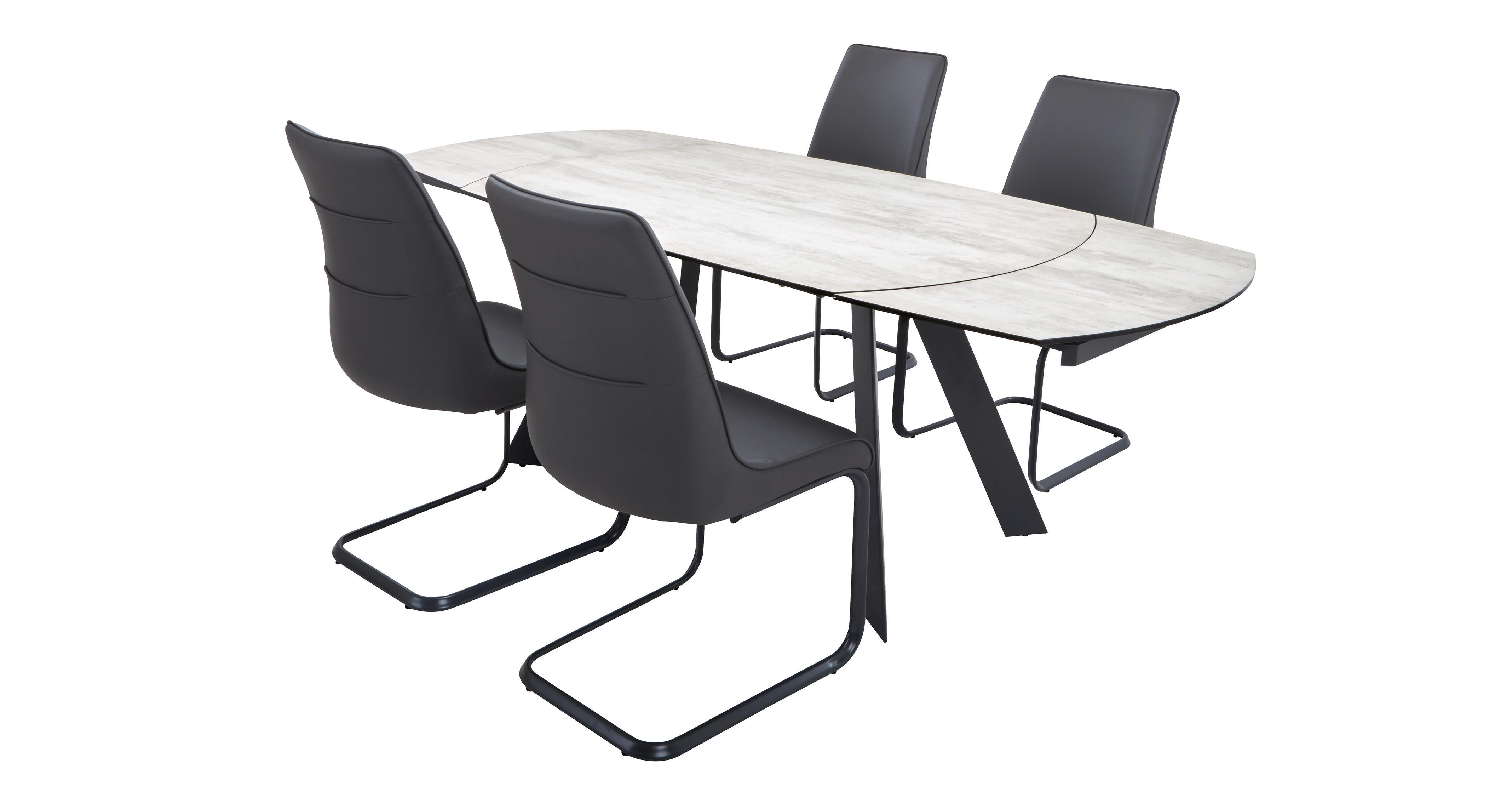 Dorada Extending Dining Table & Set of 4 Chairs | DFS