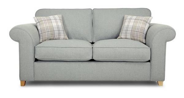 Dorset 2 Seater Formal Back Sofa Bed