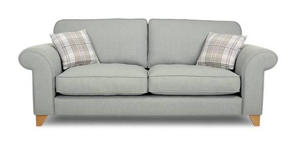 Dorset 3 Seater Formal Back Sofa