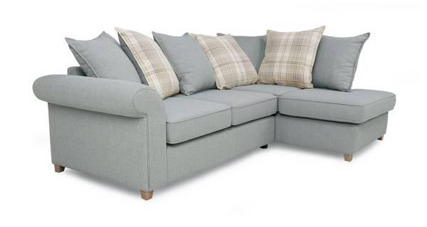 Dorset Left Hand Facing Arm Pillow Back Corner Sofa
