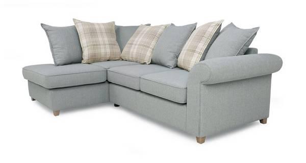 Dorset Right Hand Facing Arm Pillow Back Corner Sofa