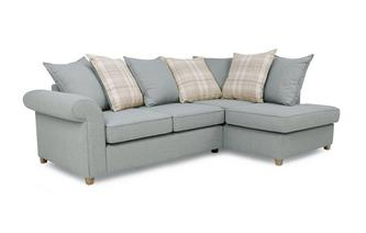 Left Hand Facing Arm Pillow Back Corner Sofa Bed Dorset