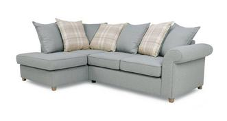 Dorset Right Hand Facing Arm Pillow Back Corner Sofa Bed
