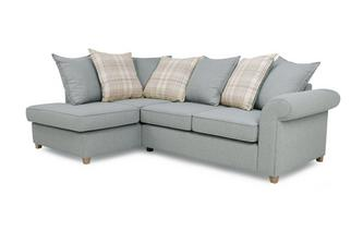 Right Hand Facing Arm Pillow Back Corner Sofa Bed Dorset