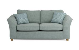 Dovedale Formal Back Large 2 Seater Sofa Bed Burlington