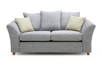 Pillow Back Large 2 Seater Sofa Bed Burlington