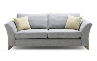 Formal Back 3 Seater Sofa Burlington