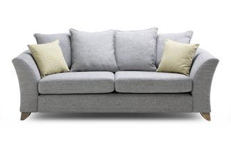 Pillow Back 3 Seater Sofa Burlington