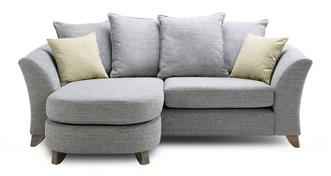 Dovedale Pillow Back 3 Seater Lounger
